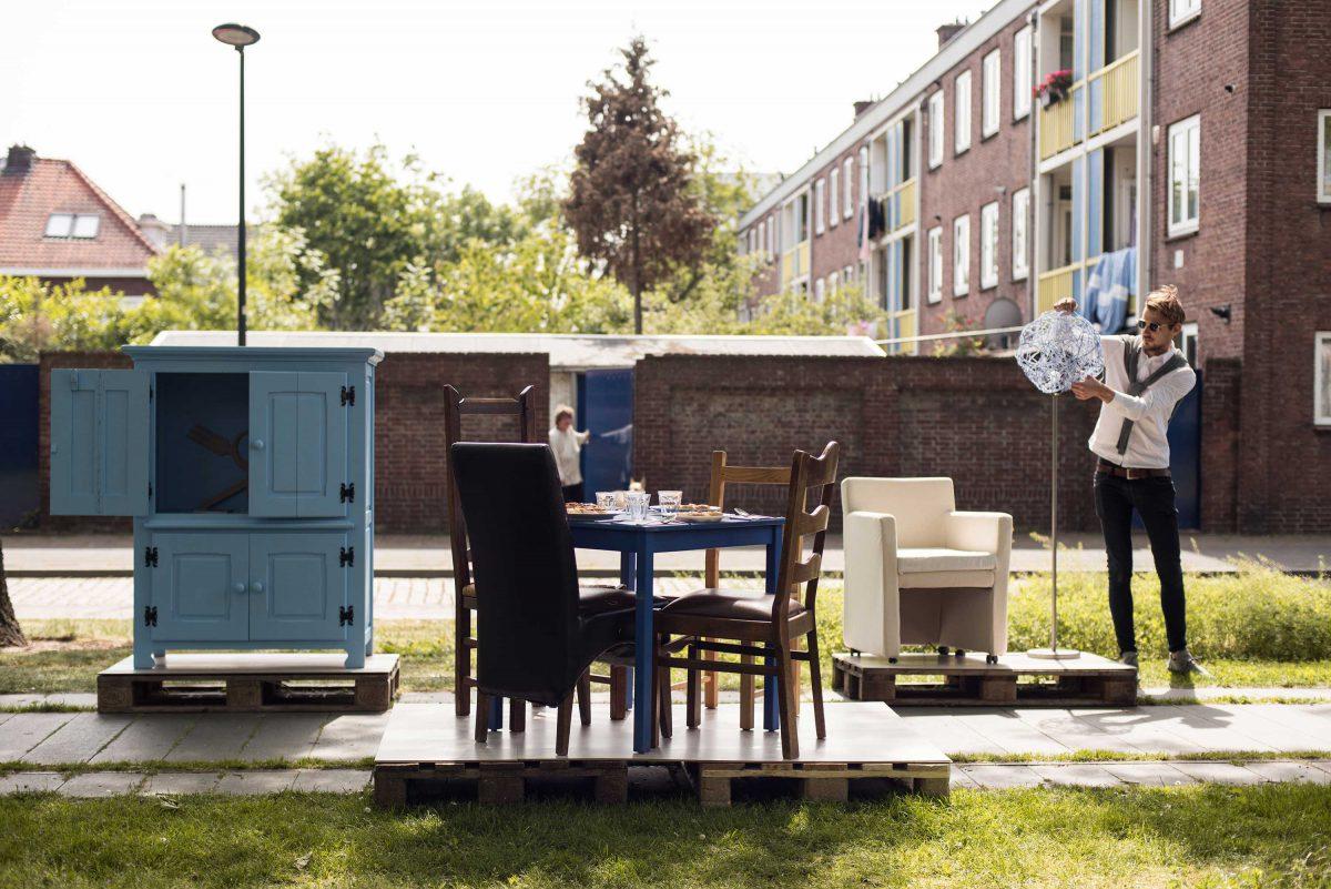 Presentatie ontwerpresultaten wijk Boschveld in 's-Hertogenbosch. © Cindy van Ree